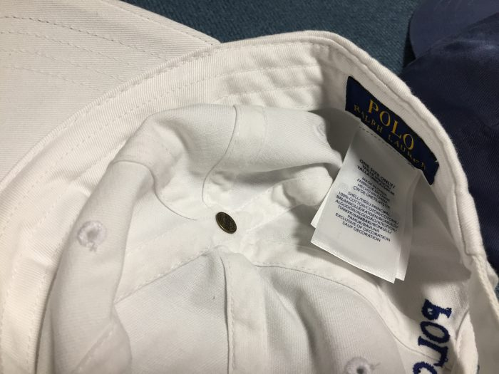 Polo RALPH LAUREN ラルフ・ローレン キャップ 頭頂部 天ボタン
