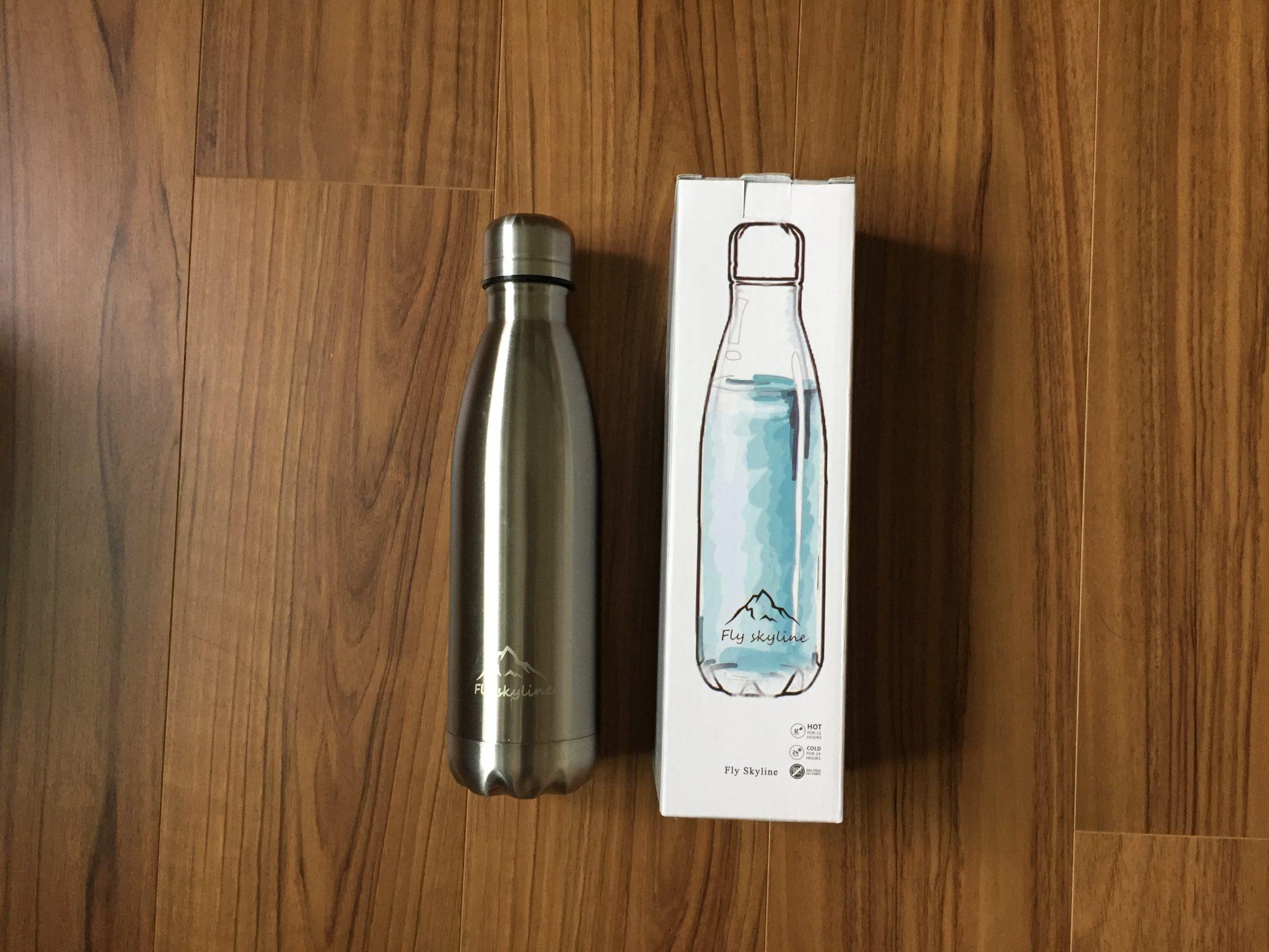 いつでもどこでも冷たいアイスコーヒーが飲みたいから、かっちょいいボトル型の水筒を購入しました。