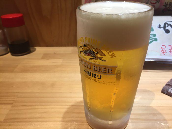 青砥 小江戸 生ビール