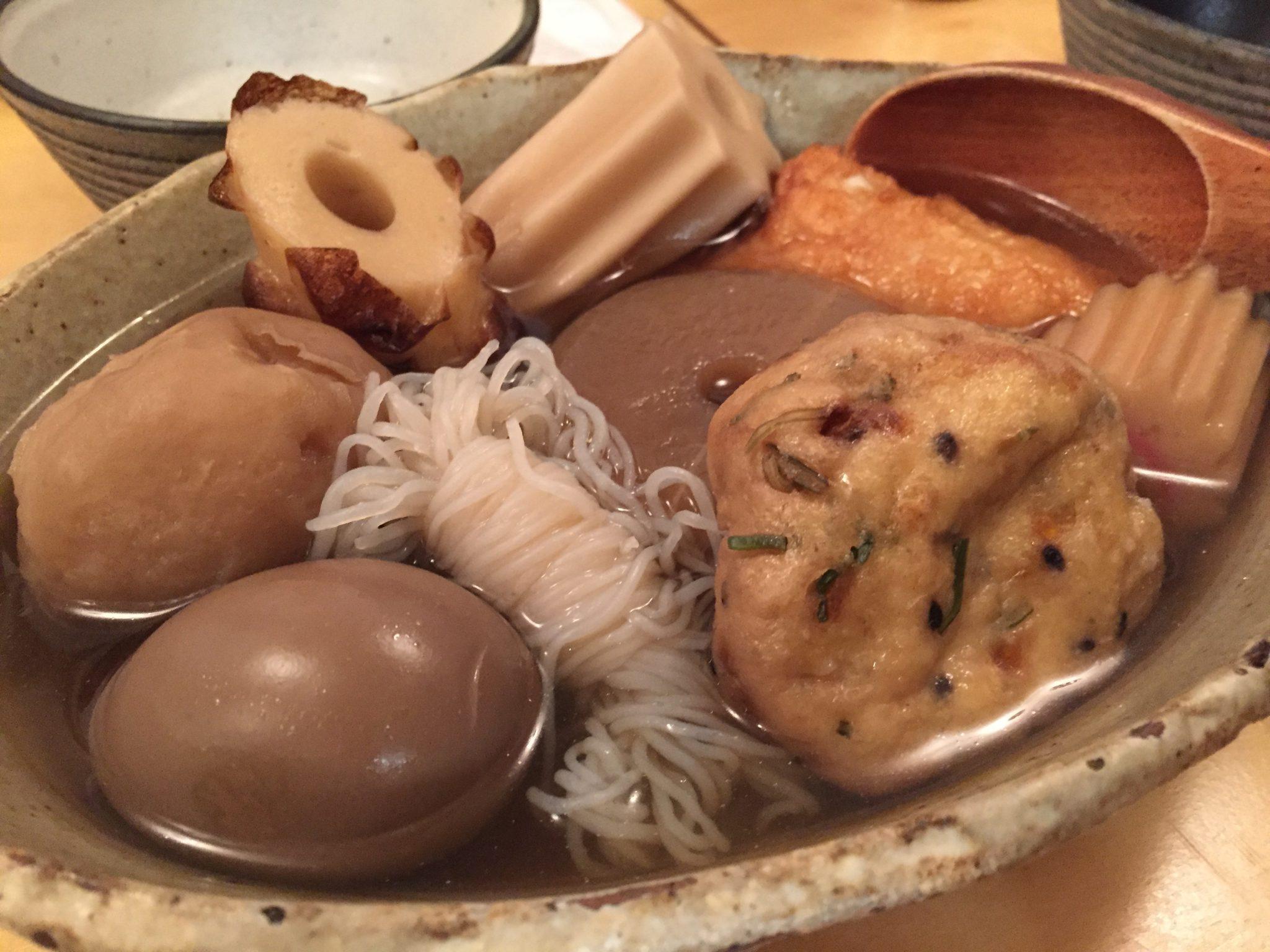 おでん 二毛作|立石でおでんディナー~真夏においしいおでんとキンキンの焼酎ハイボール