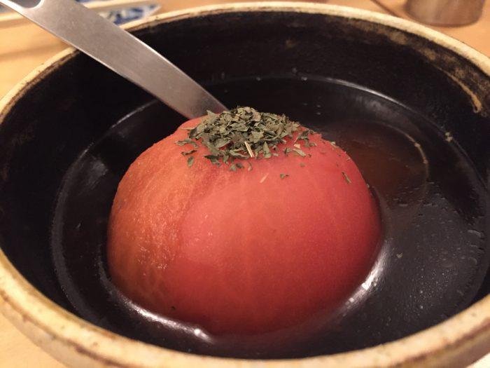 二毛作 おでん トマト