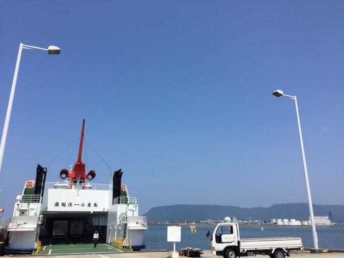 高松港 小豆島 フェリー