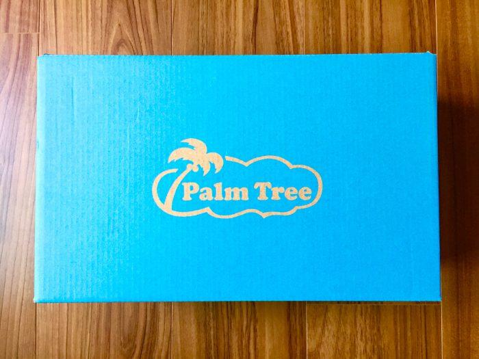 Palm Tree(パームツリー)レザーサンダル 外箱