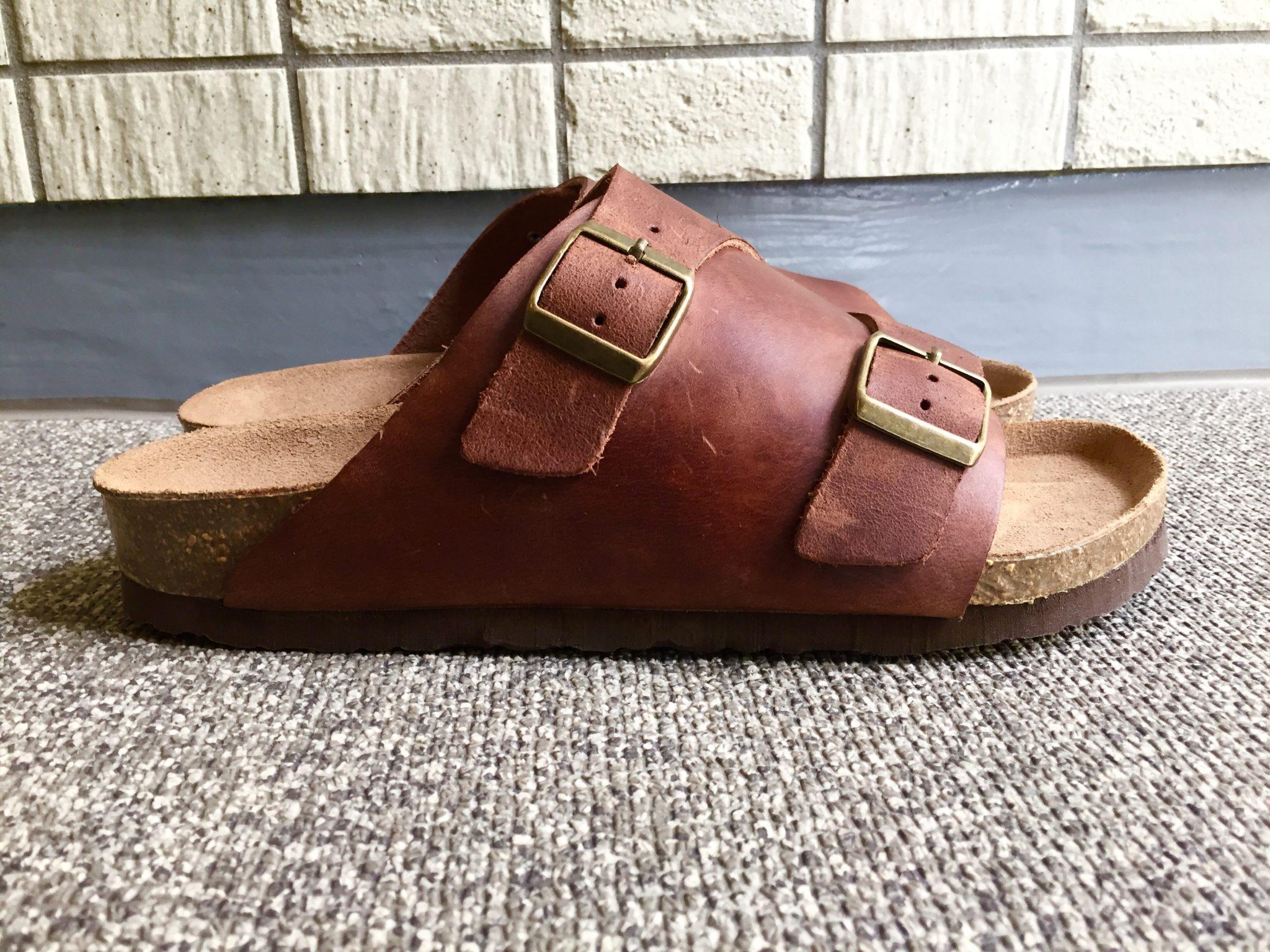 Palm Tree(パームツリー)レザーサンダル|革靴好きが満足できるエイジング(経年変化)が期待できる夏の履物