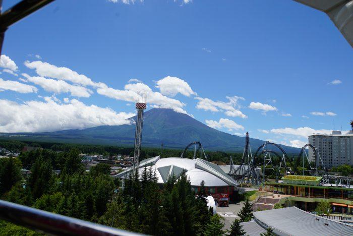 富士急 ハイランド 観覧車 富士山