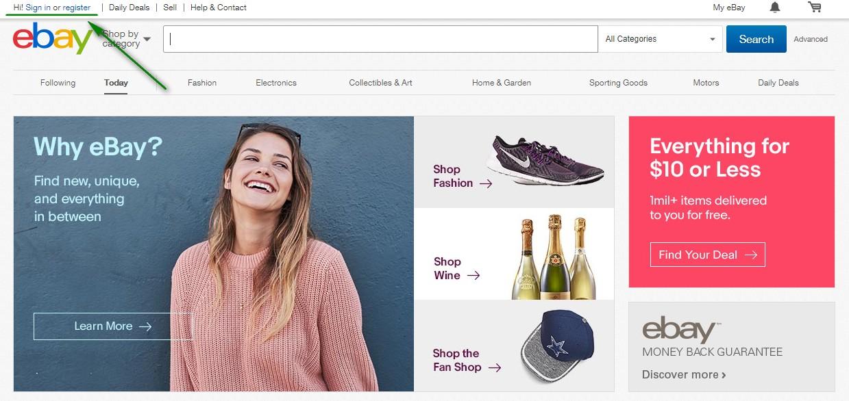 eBayのユーザー登録・住所登録・支払い方法(Paypal)登録の方法