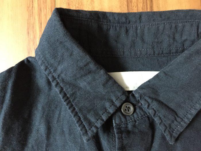 ひと夏ともに過ごしたUniqlo リネンコットンシャツ エイジング 経年変化