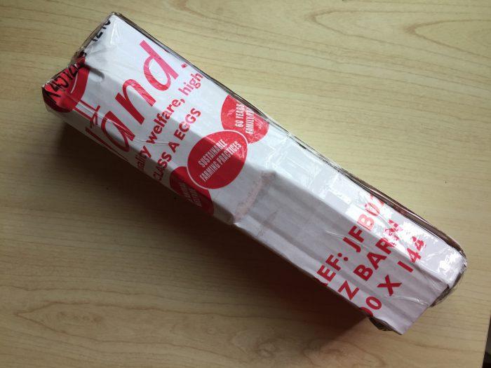 eBayの「Best Offer」を使って購入した「moto360(2nd Gen)」の改装品が届きました 包装 段ボール
