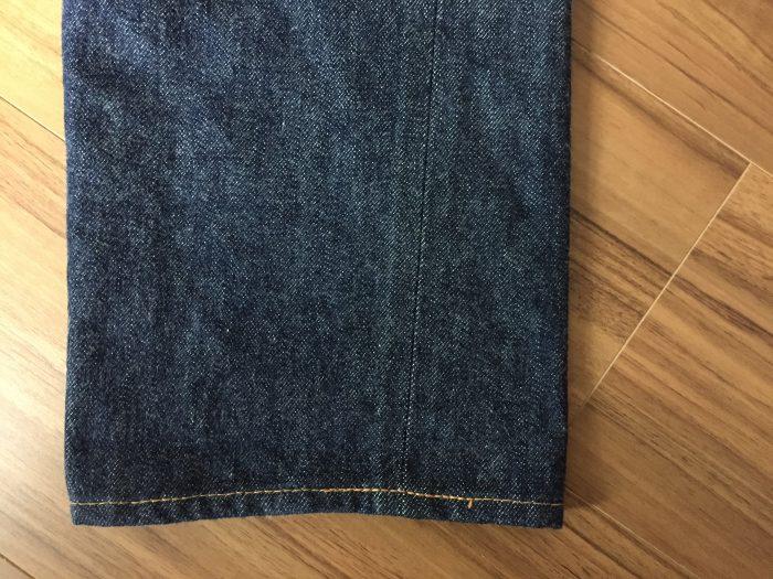 Resolute 710(リゾルト 710) 洗濯前 裾