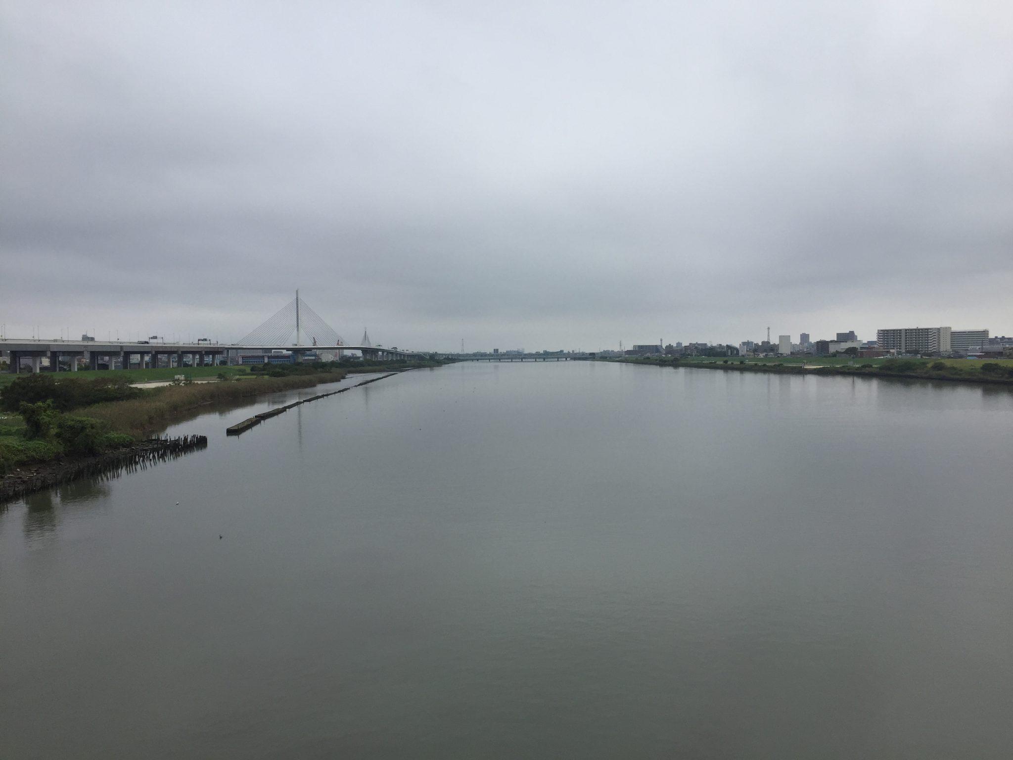 2018年9月のランニング記録~走行距離は120km。荒川の向かいまで足を延ばして12kmのランコースを開拓しました。