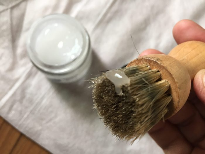 モゥブレィ リッチデリケートクリーム ペネトレイトブラシ