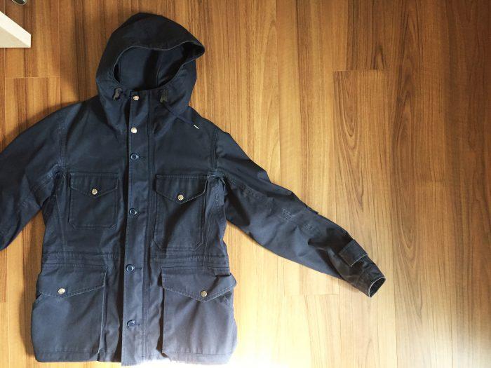 nanamica(ナナミカ)GORE-TEX Cruiser Jacket|クリーニングから帰ってきた2年目のコットンゴアは愛おしいアタリがついていました
