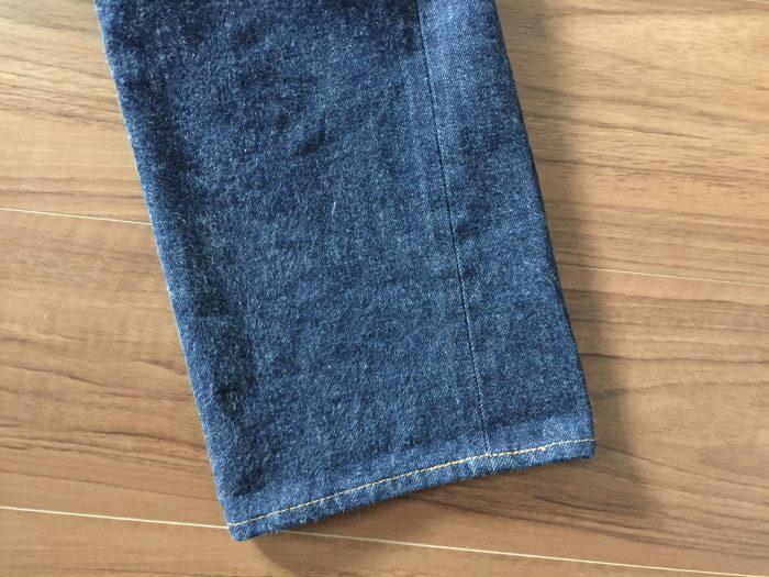 Resolute 710(リゾルト 710) 2回目の洗濯前のスソ