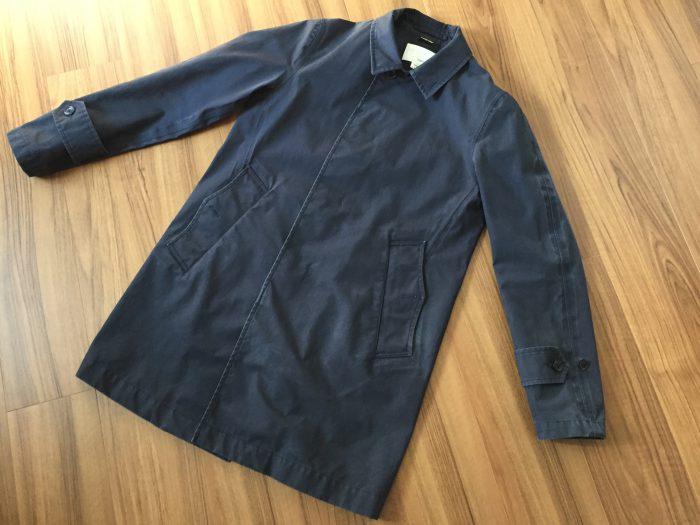 nanamica GORE-TEX Soutien Collar Coat(ナナミカ ゴアテック ステンカラーコート) 水洗い クリーニング