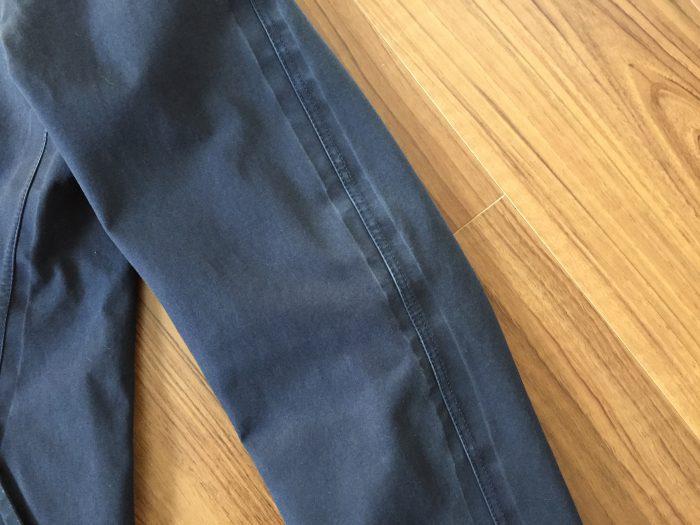 nanamica GORE-TEX Soutien Collar Coat(ナナミカ ゴアテック ステンカラーコート) 水洗い クリーニング アタリ エイジング 経年変化 袖