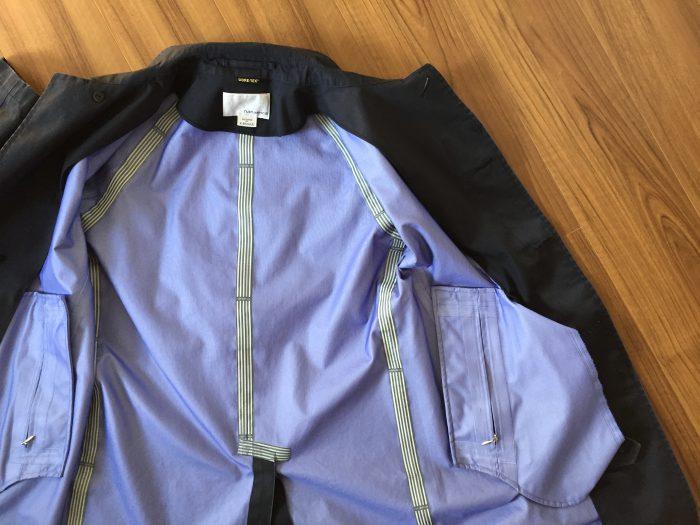 nanamica GORE-TEX Soutien Collar Coat(ナナミカ ゴアテック ステンカラーコート) 水洗い クリーニング アタリ エイジング 経年変化 止水テープ
