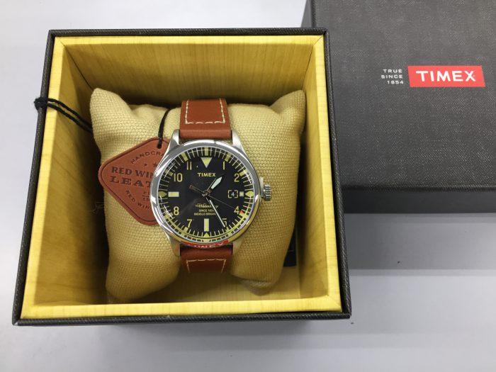 TIMEX(タイメックス)ウォーターベリー Red Wing Shoe Leather 38mm アンボックス