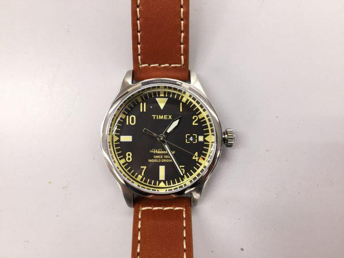 TIMEX(タイメックス)ウォーターベリー Red Wing Shoe Leather 38mm ウォッチフェイス
