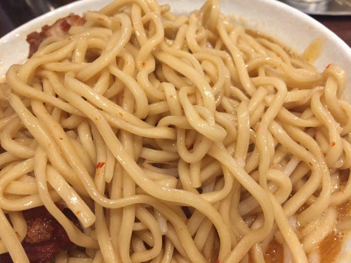 表裏 あんかけDX(メガ唐付き)麺