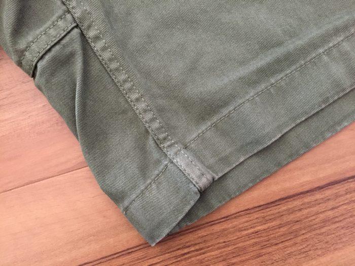 グラミチ Gショーツ(Gramicci G-Shorts) 製品染め アタリ