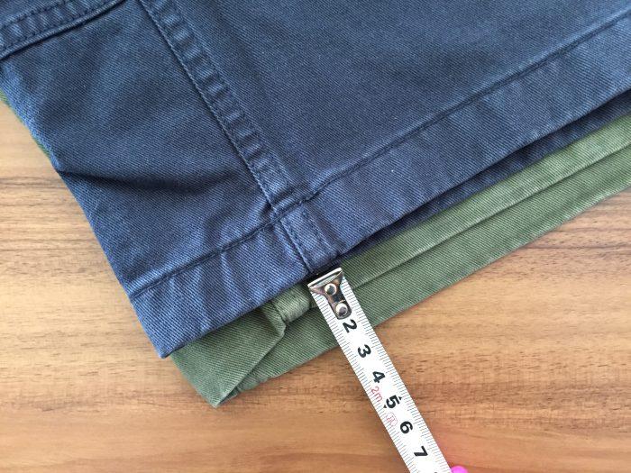 グラミチ Gショーツ(Gramicci G-Shorts) 縮み 洗濯