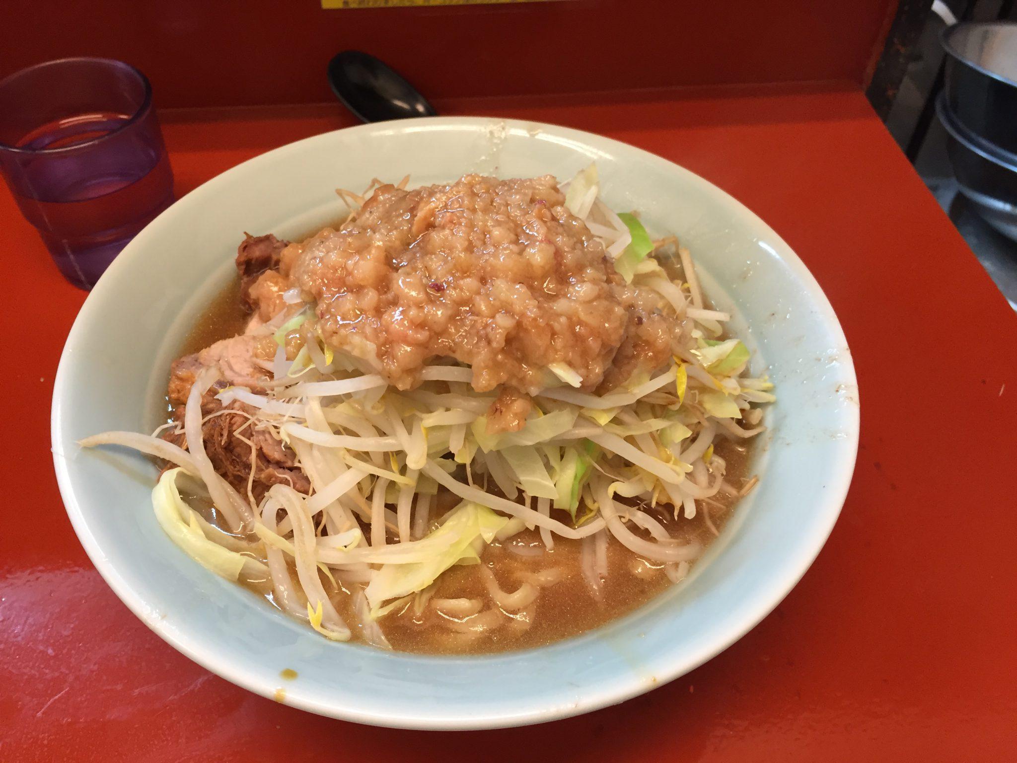立川マシマシ 5号店|神保町で二郎インスパイアランチ~二郎系を食べたいなら代替案が複数ある神保町へ