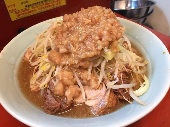 立川マシマシ ラーメン 豚マシ