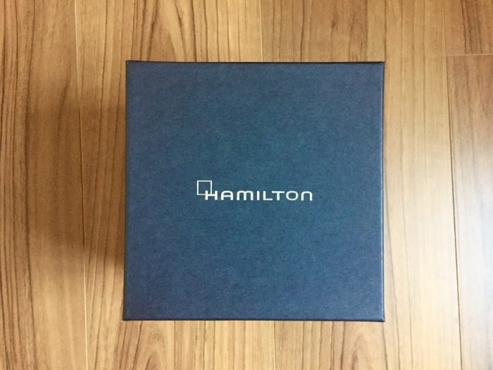 Hamilton Ventura(ハミルトン ベンチュラ) 外箱 ケース