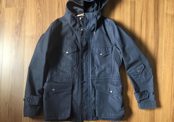nanamica(ナナミカ)GORE-TEX Cruiser Jacket 洗濯 3回 全体観