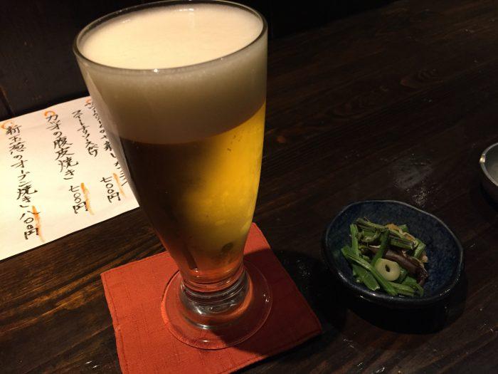さつまや 原宿 ビール ハートランド