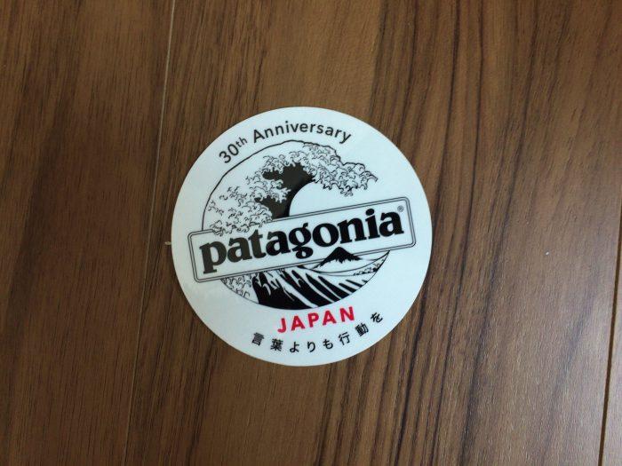 パタゴニア バギーズショーツ Patagonia BaggiesShorts ステッカー 30周年