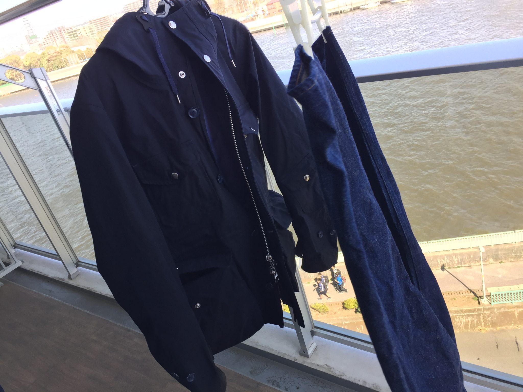 nanamica(ナナミカ)GORE-TEX Cruiser Jacket|自宅で洗濯(3回目)~購入当時とエイジング(経年変化)を比較します