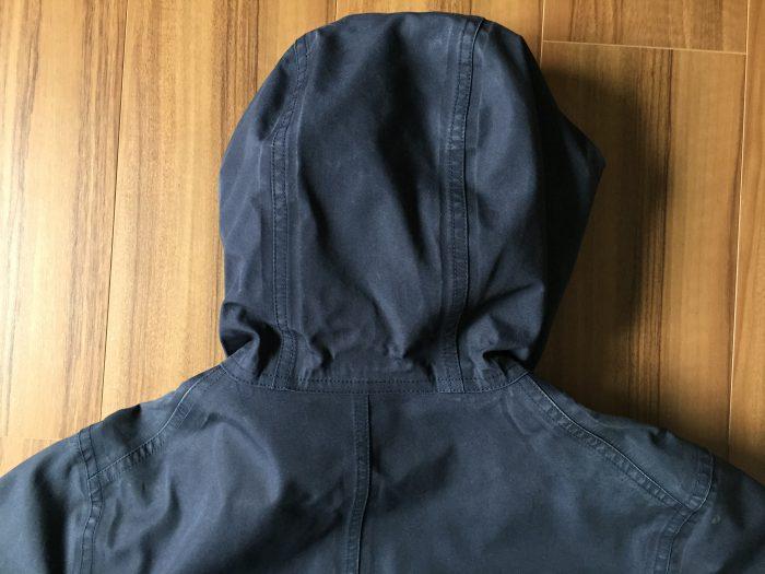 nanamica(ナナミカ)GORE-TEX Cruiser Jacket 洗濯 3回  背中