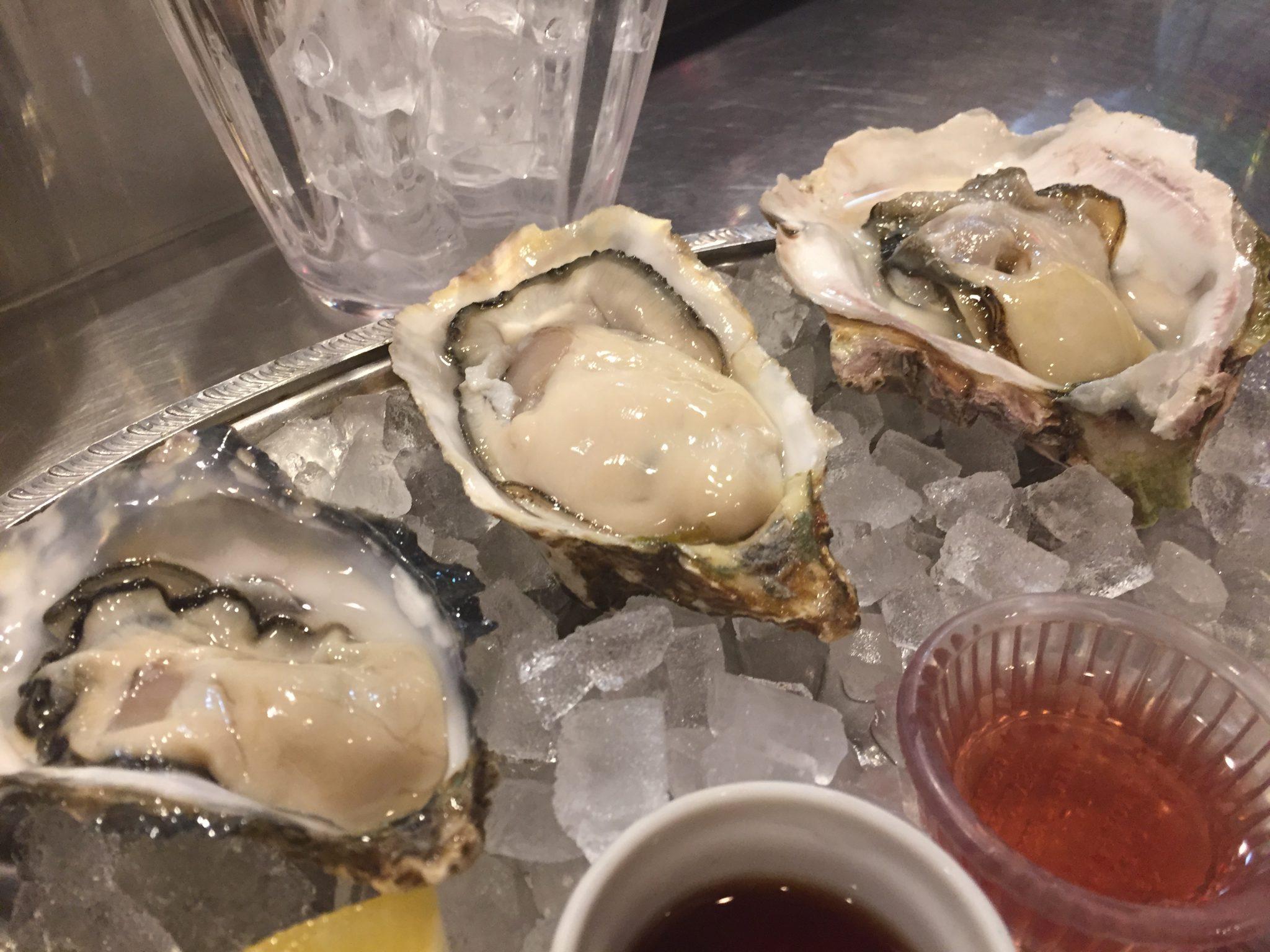 東京オイスターバー(TOKYO OYSTER BAR)|五反田で生牡蠣ディナー