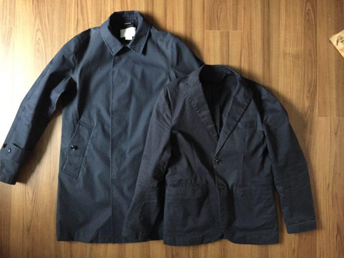 ナナミカ ゴアテックス ステンカラーコート~自宅での洗濯方法