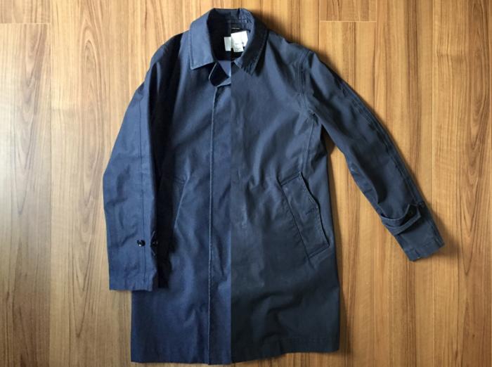 ナナミカ ゴアテックス ステンカラーコート(nanamica GORE-TEX Soutien Collar Coat)|自宅ではじめての洗濯_全体観