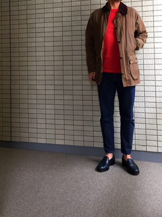 Barbour Bedale(バブアー ビデイル) コーディネート