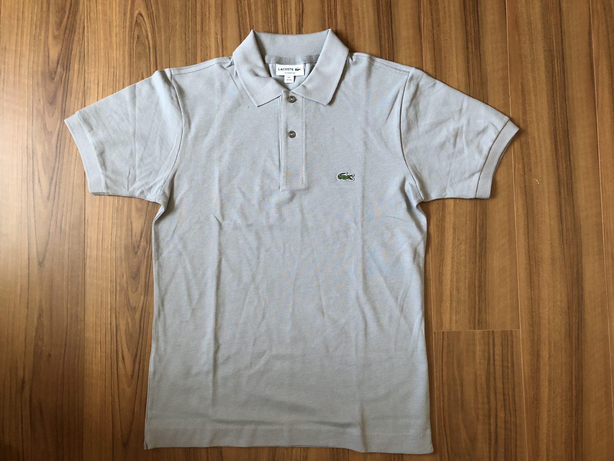 ラコステ フララコ(LACOSTE L1212)ポロシャツ 全体観