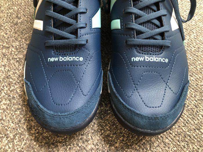 New Balance(ニューバランス) サッカー用トレーニングシューズ MSAPT AUDAZO PRO TF つま先 スエード