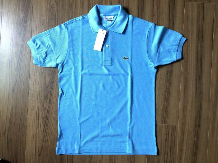 ラコステ フララコ(LACOSTE L1212)ポロシャツ オーシャンブルー