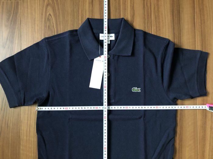 ラコステ フララコ(LACOSTE L1212)ポロシャツ ネイビー 洗濯 乾燥機 前