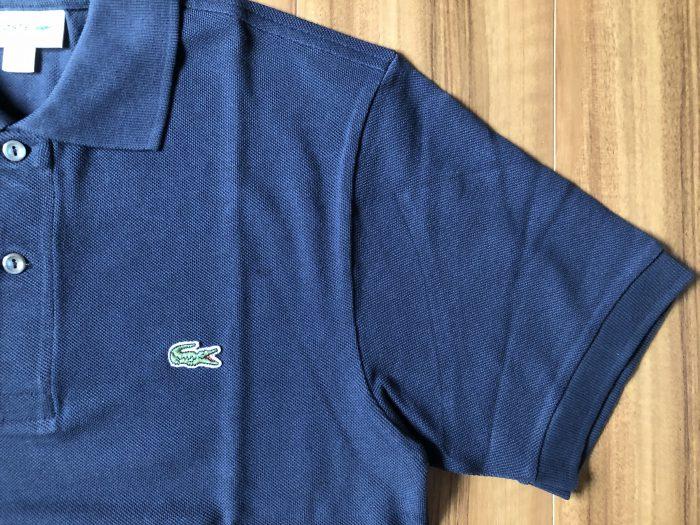 ラコステ フララコ(LACOSTE L1212)ポロシャツ ネイビー アタリ 退色 経年変化 エイジング