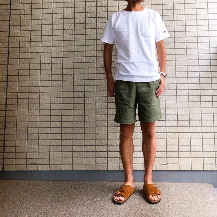 グラミチ Gショーツ(Gramicci G-Shorts) エイジング 経年変化 穿き心地