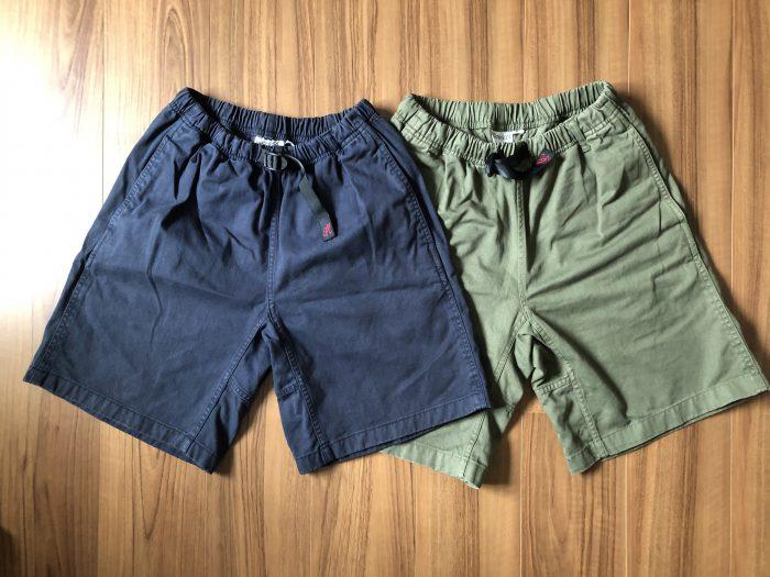 グラミチ Gショーツ(Gramicci G-Shorts)~履き心地が柔らかくなったエイジング(経年変化)の様子をレポートします
