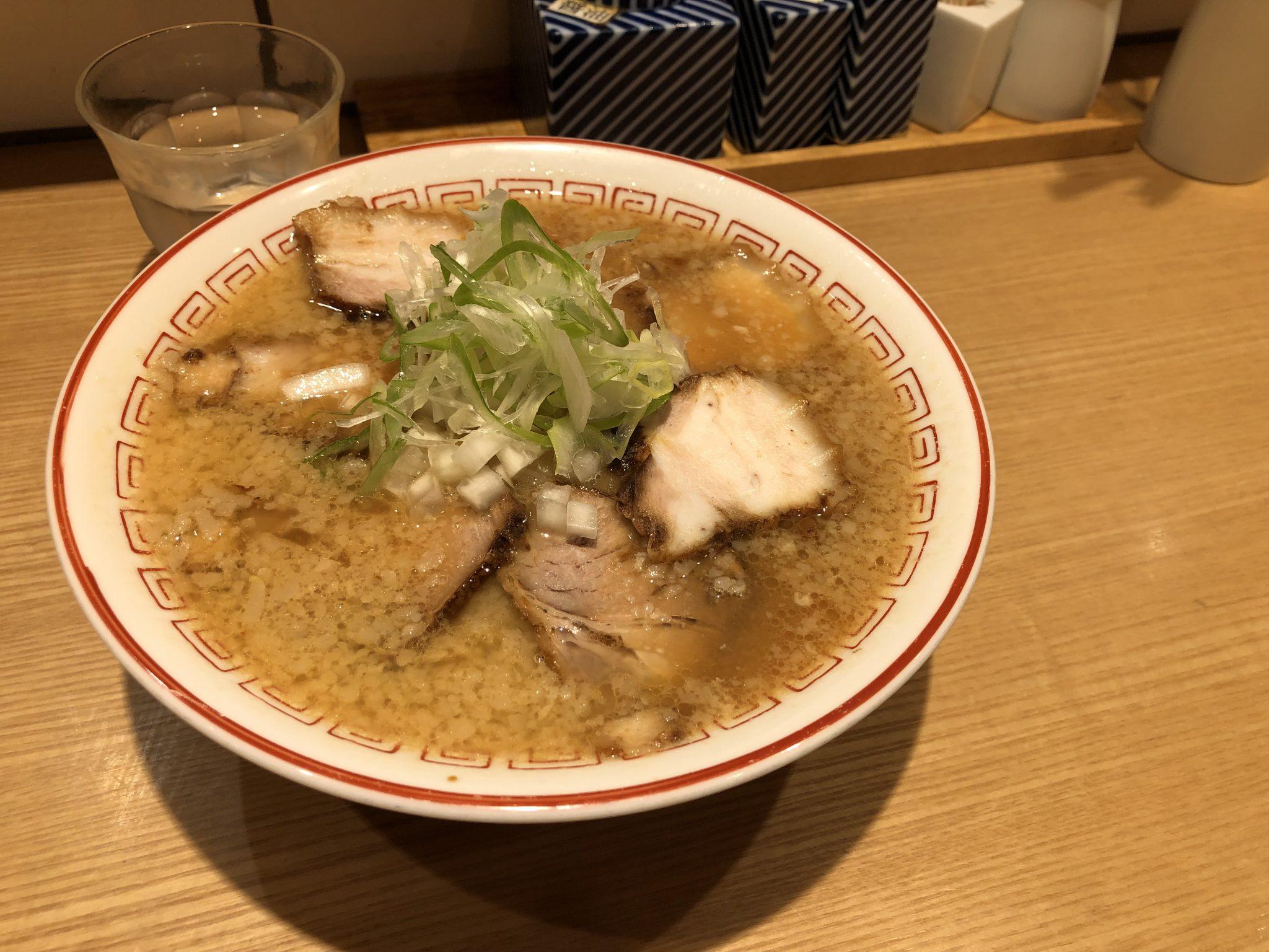 きたかた食堂|新橋でラーメンランチ~しっかり味の味噌スープと香ばしいチャーシューがgood