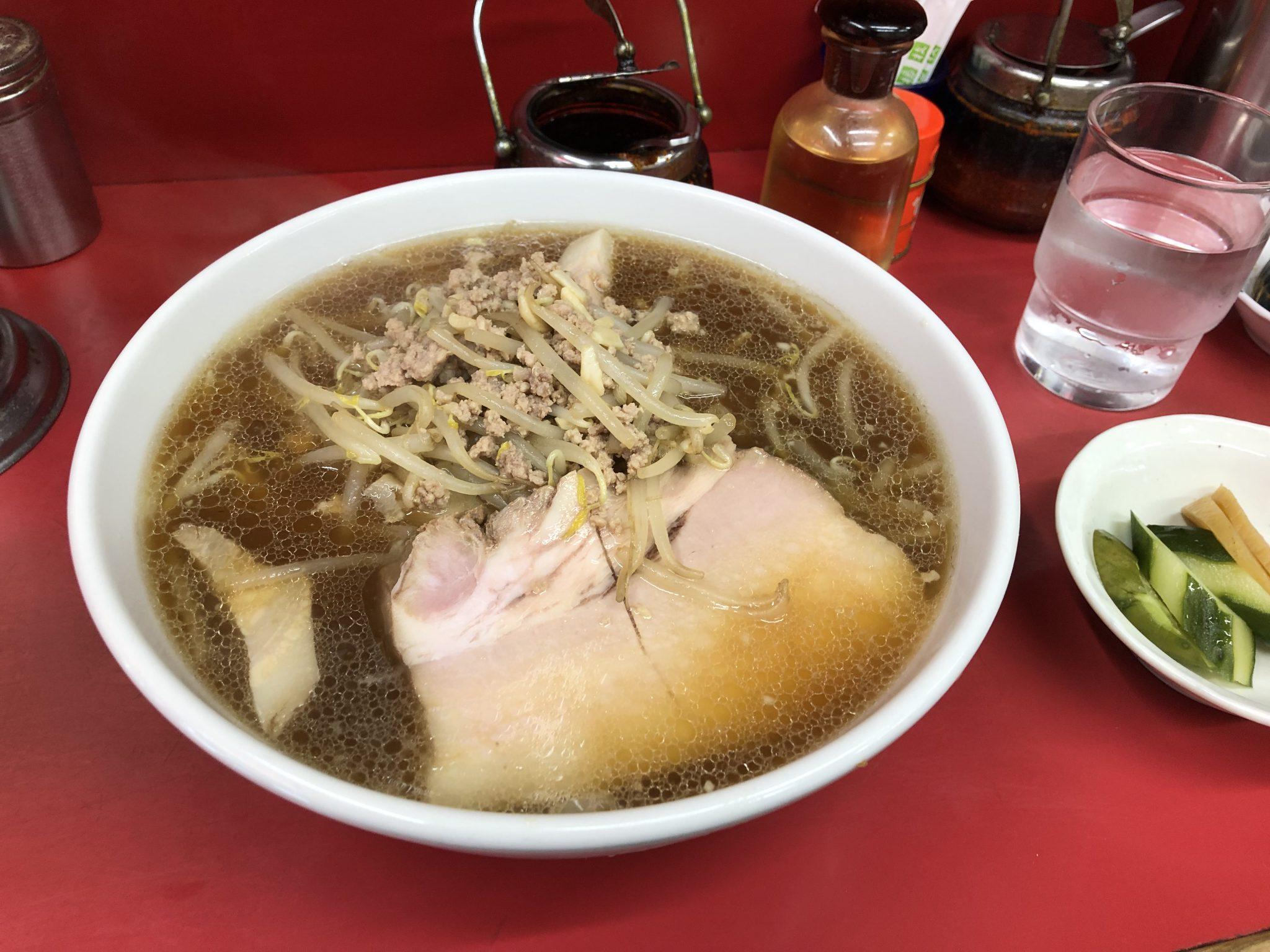 サッポロラーメン 天竜|浅草橋でラーメンランチ~醤油一枚半ライスの王道おいしい食べ方