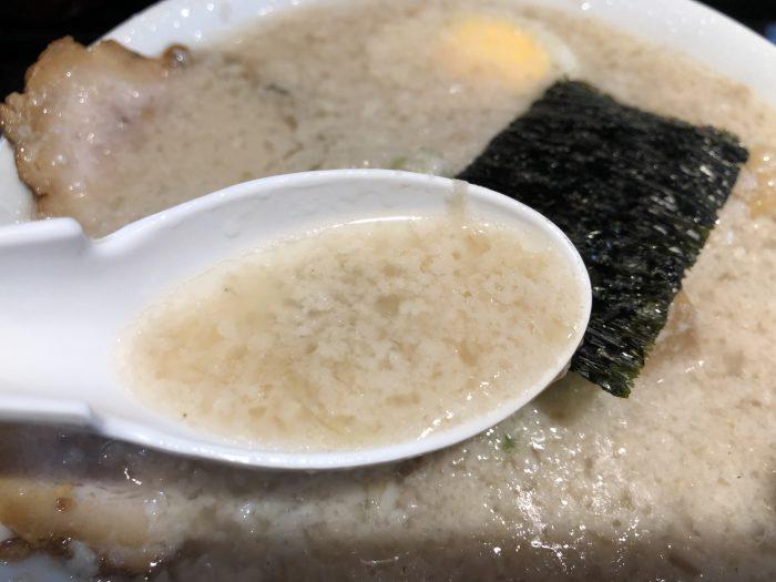 新橋 元楽-楽(塩)チャーシューメン 背脂多め