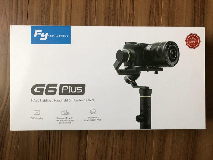 Feiyutech(フェイユーテック) G6 PLUS 外箱