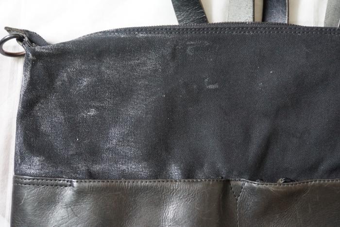 帆布 パラフィン加工 グリーンランドワックス ヒートガン 溶かす