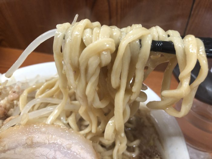 ラーメン二郎 亀戸店 麺